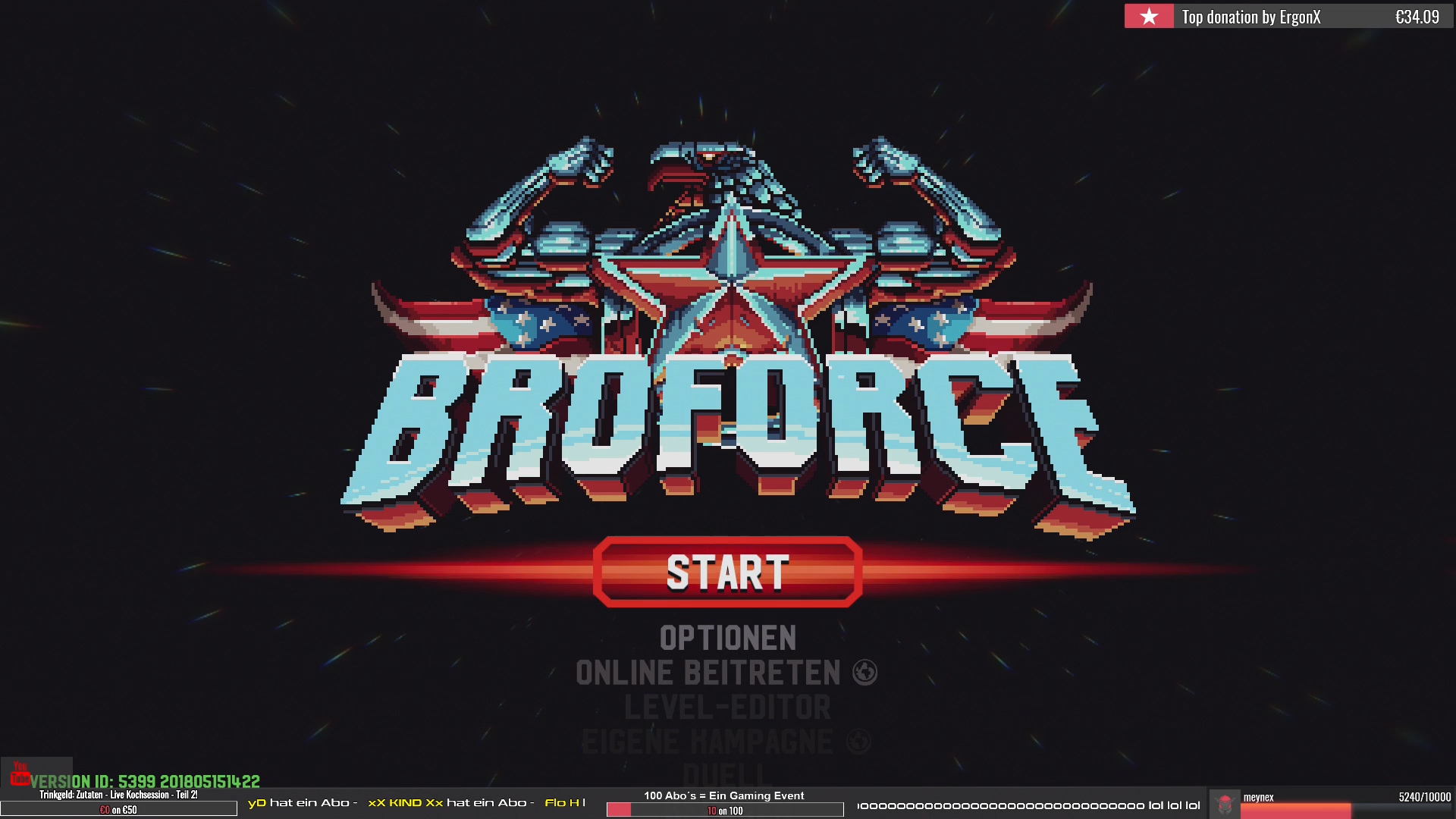 Das Broforce Game