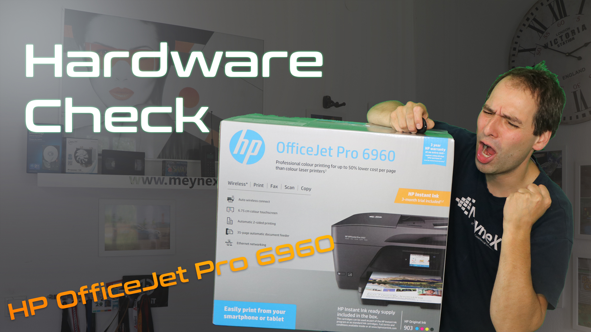 HP OfficeJet Pro 6960 Drucker